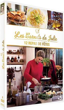 Les Carnets de Julie - 12 repas de fêtes (4 DVDs)