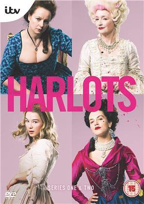 Harlots - Series 1+2 (4 DVDs)