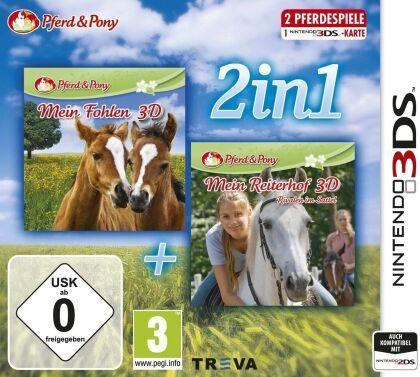 2in1 - Mein Fohlen + Reiterhof