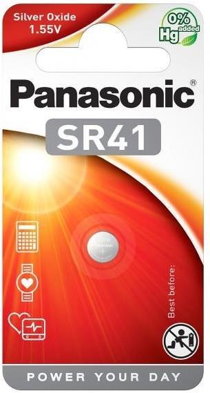 Panasonic SR41 (Silberoxid/Uhrenbatterien)