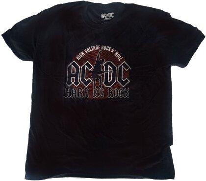 AC/DC Unisex Tee - Hard As Rock