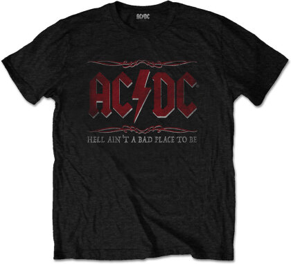 AC/DC Unisex Tee - Hell Ain't A Bad Place