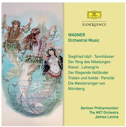 James Levine, Richard Wagner (1813-1883), The MET Orchestra & Berliner Philharmoniker - Orchestral Music (Eloquence Australia, 2 CDs)