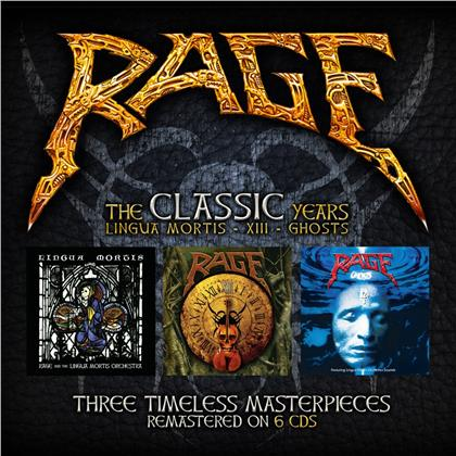 Rage - The Lingua Mortis Years (2019 Reissue, Dr.Bones, 6 CDs)