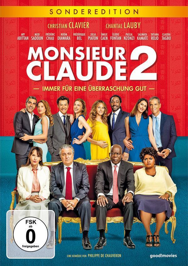 Monsieur Claude 2 - Immer für eine Überraschung gut (2019) (Limitierte Sonderedition, 2 DVDs)