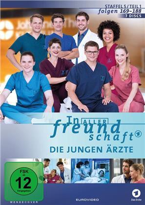 In aller Freundschaft - Die jungen Ärzte - Staffel 5.1 (7 DVDs)