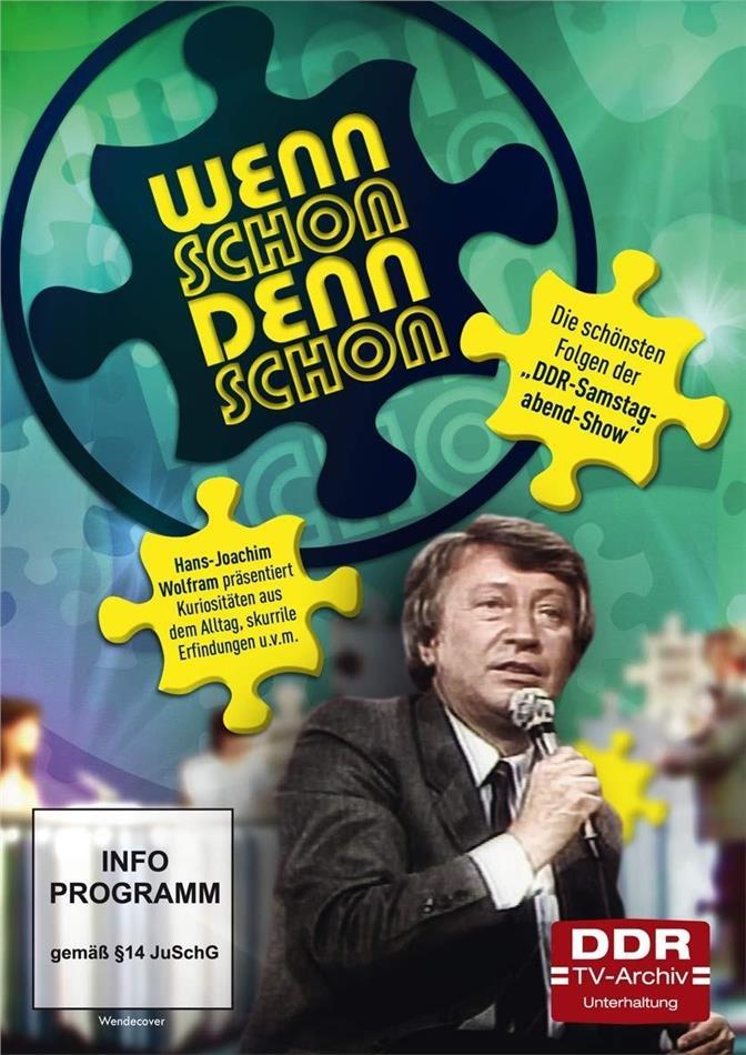 """Wennschon dennschon - Die schönsten Folgen der """"DDR-Samstagabend-Show"""" (DDR TV-Archiv, 4 DVDs)"""