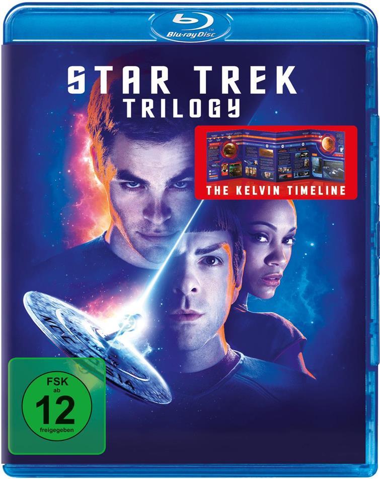 Star Trek: 3 Movie Blu-ray Collection - Star Trek 11 / Star Trek 12 - Into Darkness / Star Trek 13 - Beyond (3 Blu-rays)