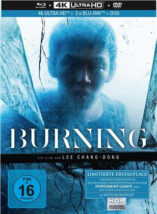 Burning (2018) (Limited Collector's Edition, Mediabook, 4K Ultra HD + 2 Blu-rays + DVD)