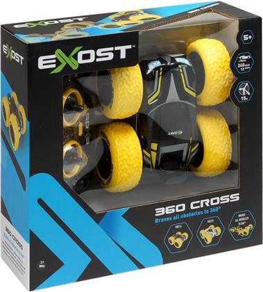 Exost Cross 360 gelb - 13x13x6 cm, 1:18, Batt. 4xAA