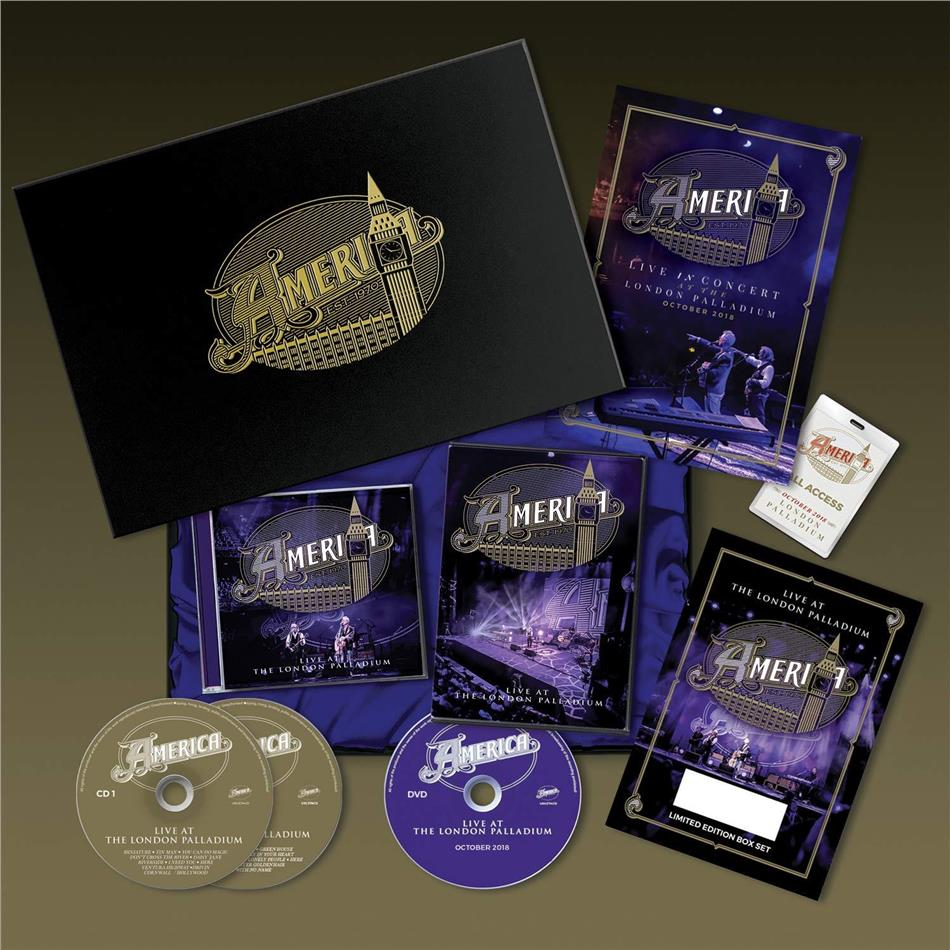 America - Live At The Palladium (Limited Edition, 2 CDs + DVD)