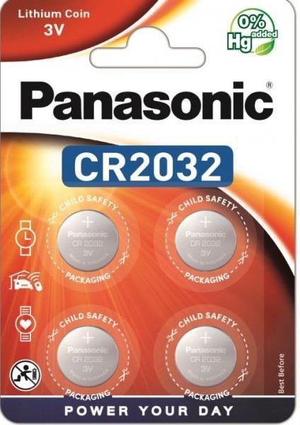 Panasonic Lithium Power 4x CR2032