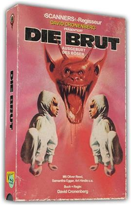 Die Brut (1979) (VHS Retro Edition, 40th Anniversary Limited Edition, Blu-ray + DVD)