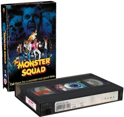 The Monster Squad (1987) (VHS Retro Edition, Cover B, Limited Edition, Blu-ray + DVD)