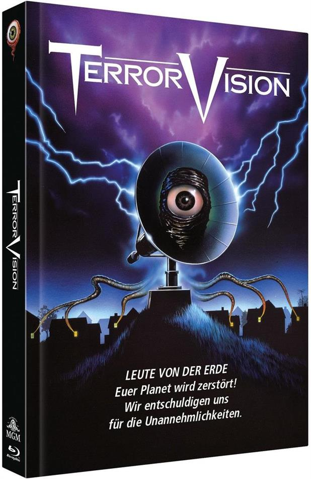 Terror Vision (1986) (Cover A, Limited Collector's Edition, Mediabook, Blu-ray + DVD)