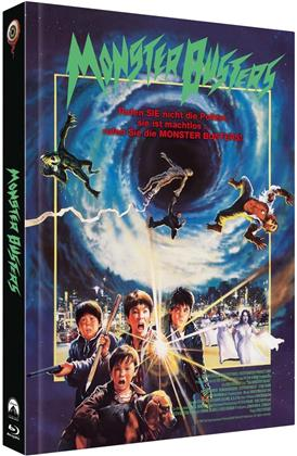 Monster Busters (1987) (Cover A, Limited Collector's Edition, Mediabook, Blu-ray + 2 DVDs)