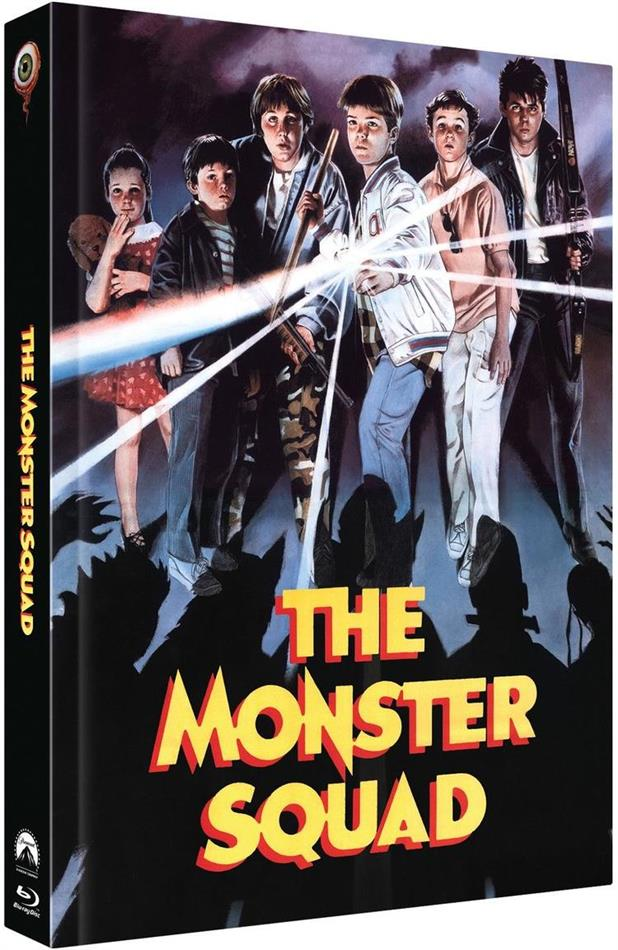 The Monster Squad (1987) (Cover B, Limited Collector's Edition, Mediabook, Blu-ray + 2 DVDs)