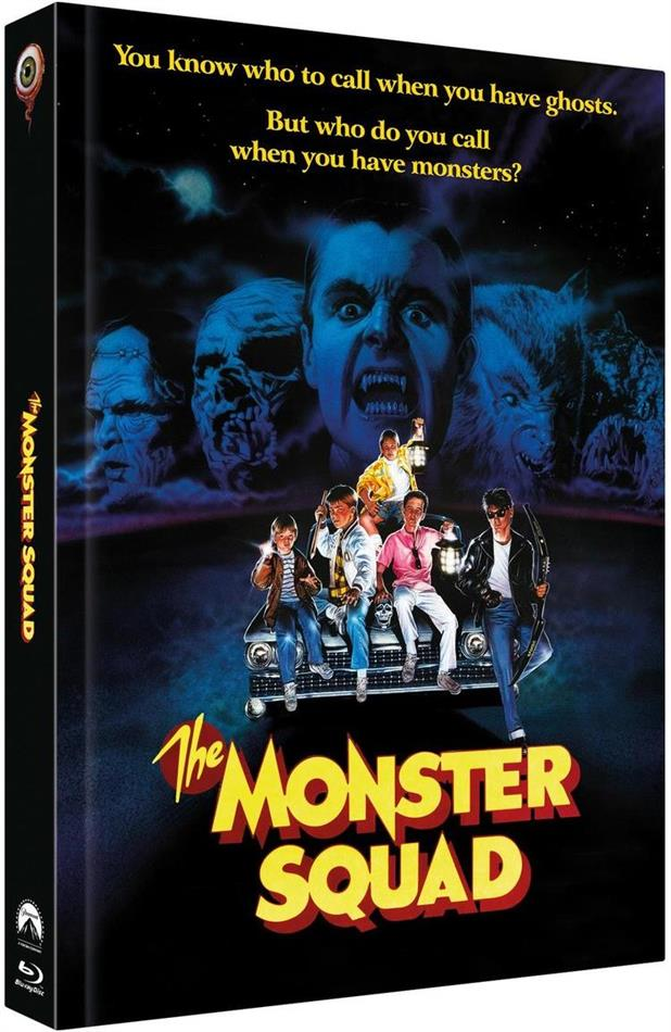 The Monster Squad (1987) (Cover C, Limited Collector's Edition, Mediabook, Blu-ray + 2 DVDs)