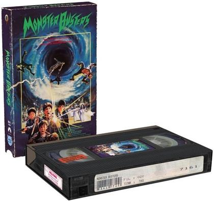 Monster Busters (1987) (VHS Retro Edition, Cover A, Limited Edition, Blu-ray + DVD)