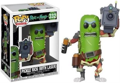 Funko Pop! Animation 332 - Rick & Morty - Pickle Rick with Laser