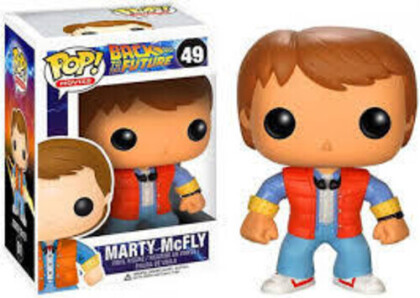 Funko Pop! Movies: - Back To The Future - Marty