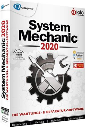 System Mechanic 2020 (Code in a Box)