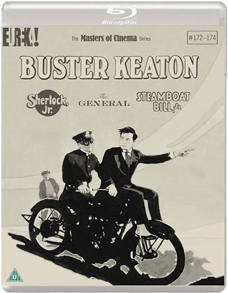 Buster Keaton (Masters of Cinema, s/w, 3 Blu-rays)