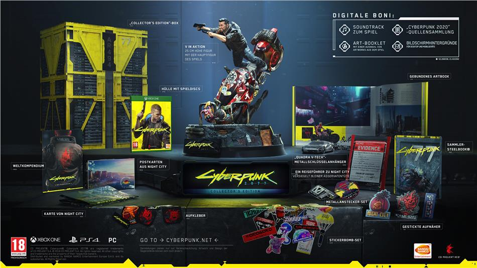 Cyberpunk 2077 (Édition Collector)