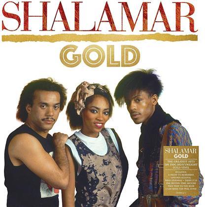 Shalamar - Gold (2019 Reissue, Demon Records, Gold Vinyl, LP)