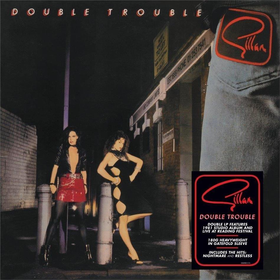 Ian Gillan - Double Trouble (2019 Reissue, Demon Records, 2 LPs)