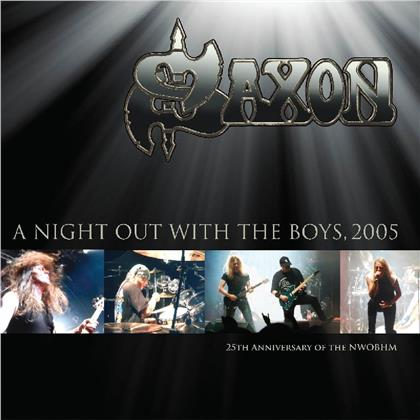 Saxon - A Night Out With The Boys (2019 Reissue, Demon Records, 2 LPs)