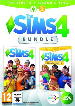 The Sims 4 Bundle + Island Living - (Code in a Box)