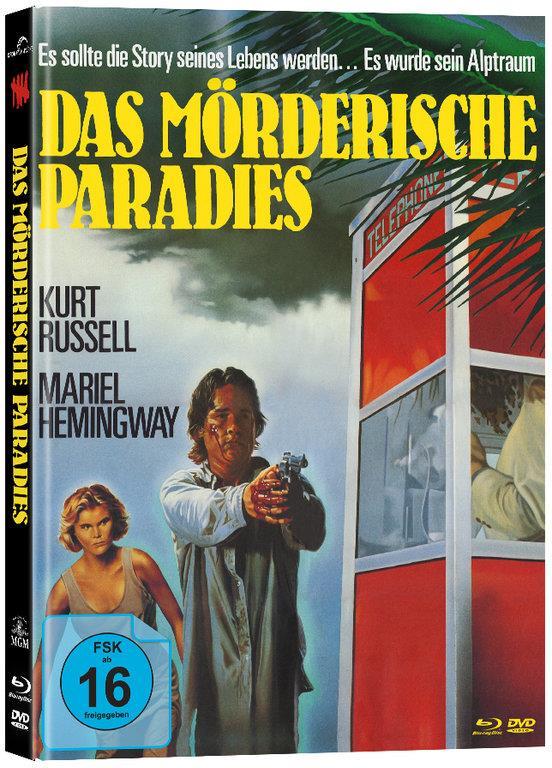 Das Mörderische Paradies (1985) (Cover B, Mediabook, Blu-ray + DVD)