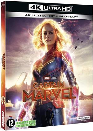 Captain Marvel (2019) (4K Ultra HD + Blu-ray)