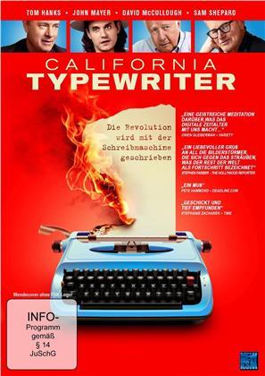 California Typewriter - Die Revolution wird mit der Schreibmaschine geschrieben (2016)