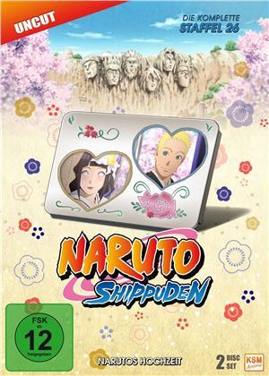 Naruto Shippuden - Staffel 26 - Narutos Hochzeit (Uncut, 2 DVDs)