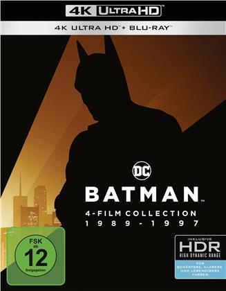 Batman 1989-1997 (4 4K Ultra HDs + 4 Blu-rays)