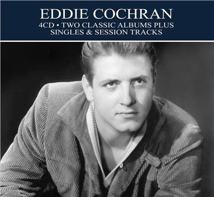 Eddie Cochran - Two Classic Albums + Singles (4 CDs)