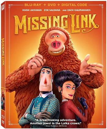 Missing Link (2019) (Blu-ray + DVD)