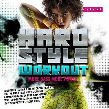 Hardstyle Workout 2020 - More Bass, More Power (2 CDs)