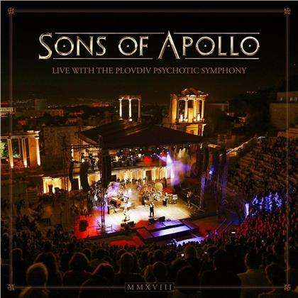Sons Of Apollo - Live With The Plovdiv Psychotic Symphony (3 CDs + DVD)