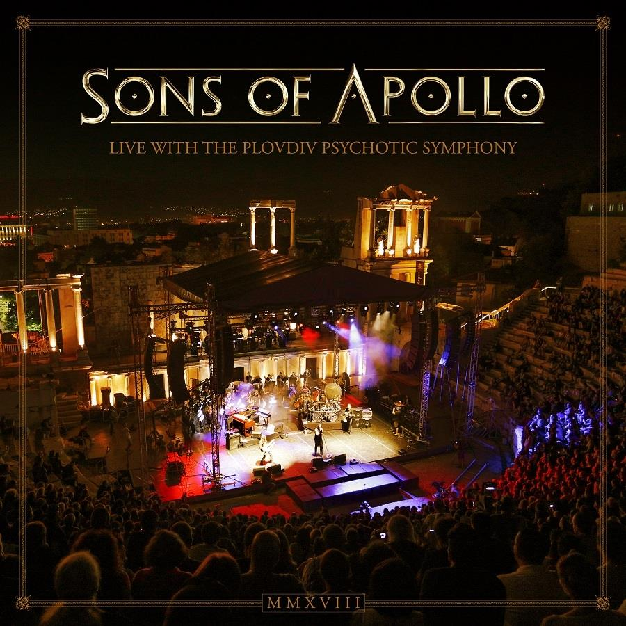Sons Of Apollo - Live With The Plovdiv Psychotic Symphony (3 CDs + DVD + Blu-ray)