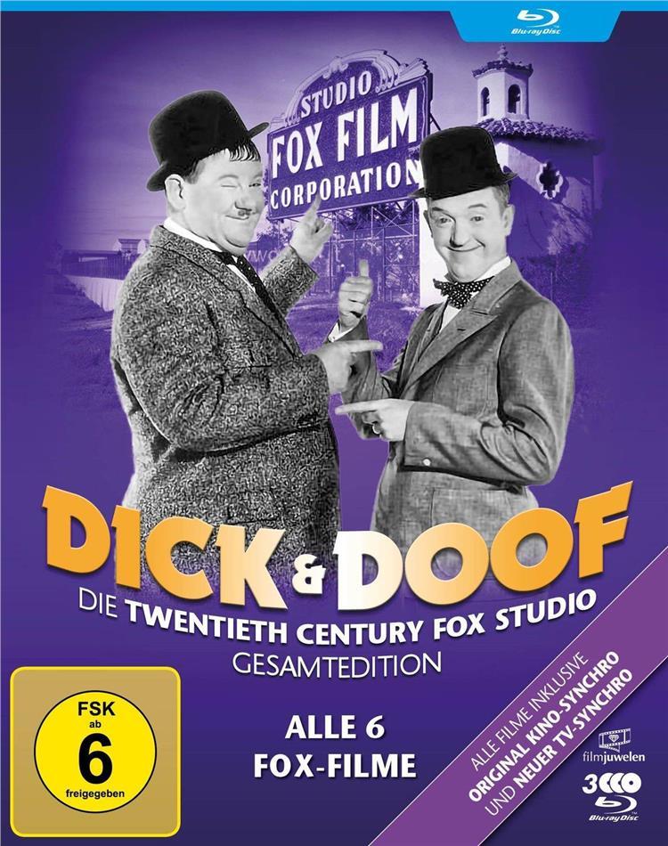 Dick und Doof - Die Fox-Studio-Gesamtedition (Filmjuwelen, 2 Blu-rays)