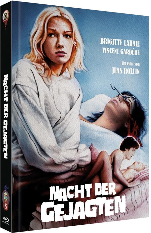 Nacht der Gejagten (1980) (Cover B, Limited Edition, Mediabook, Blu-ray + DVD)