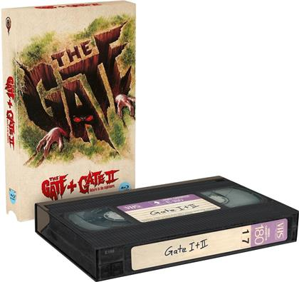 The Gate 1+2 (VHS Retro Edition, Cover A, Limited Edition, 2 Blu-rays)