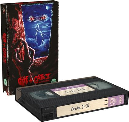 The Gate 1+2 (VHS Retro Edition, Cover B, Limited Edition, 2 Blu-rays)