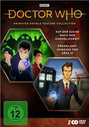 Doctor Who - Animated Double Feature Collection - Auf der Suche nach der Unendlichkeit / Dreamland: Invasion der Area 51 (2 DVDs)