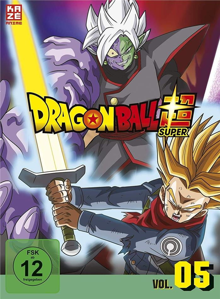 Dragon Ball Super - Vol. 5: Arc 4 - Trunks aus der Zukunft 2/2 (3 DVDs)