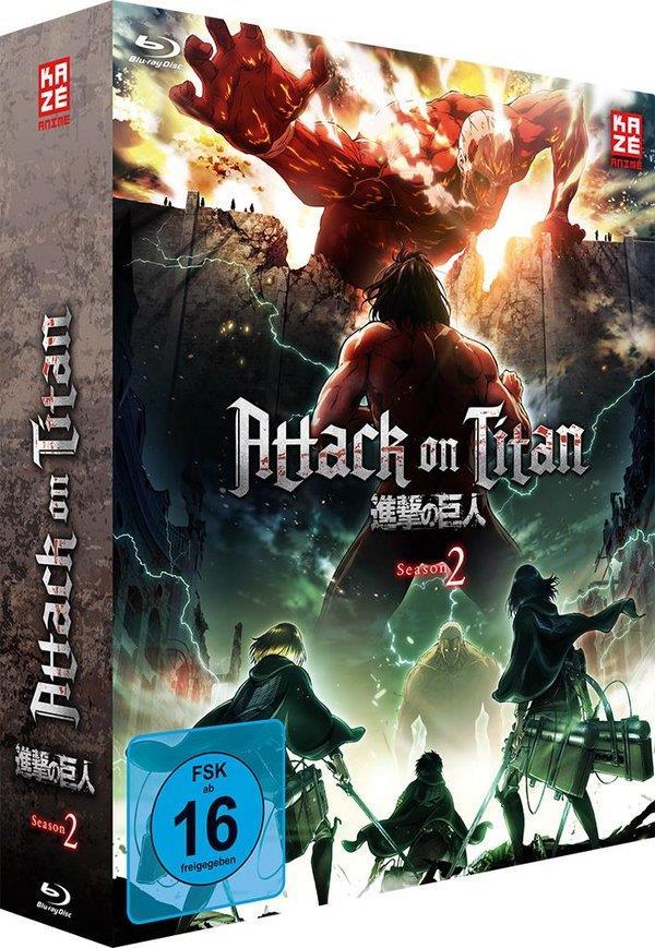 Attack on Titan - Staffel 2 - Vol. 1 (+ Sammelschuber, Edizione Limitata)