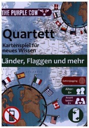 Quartett - Länder, Flaggen & mehr (Kartenspiel)